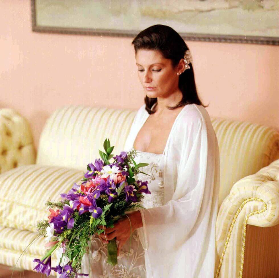 Carmina Ordóñez en su boda