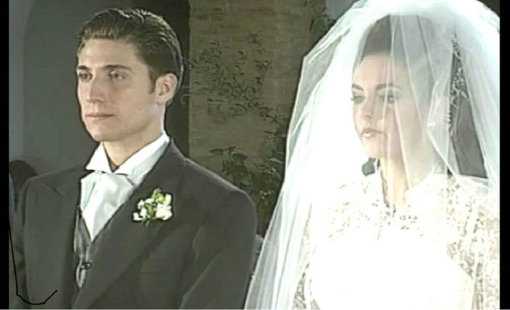 Rocío Carrasco con Antonio David Flores en su boda