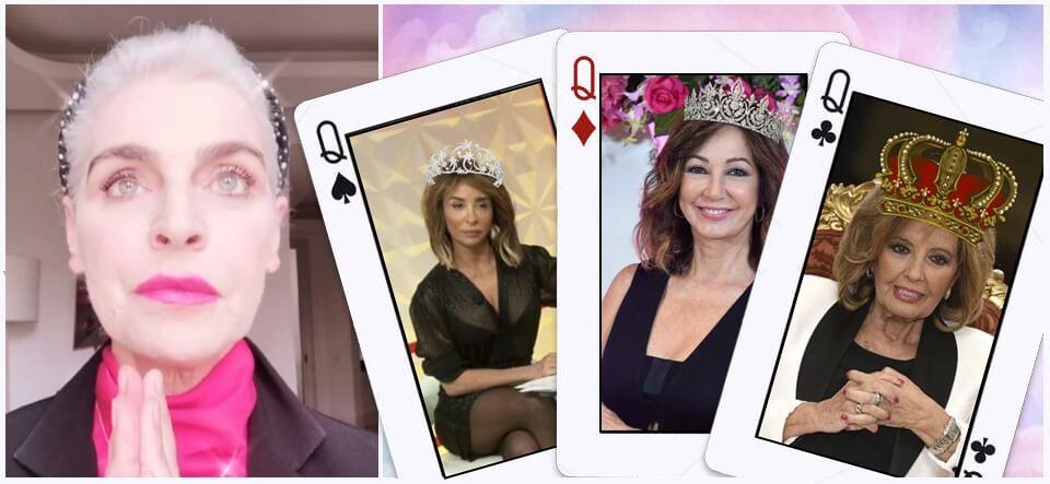 Antonia Dell´Atte y el trío de reinas de Telecinco