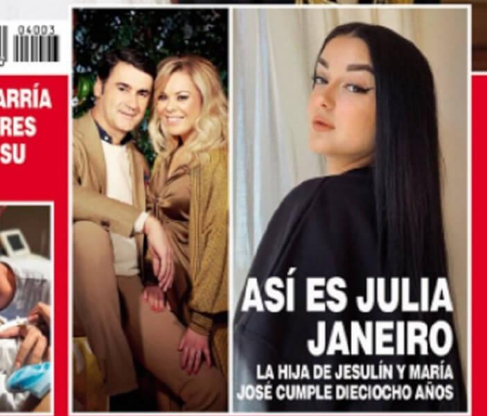 Julia Janeiro vende la exclusiva a Hola