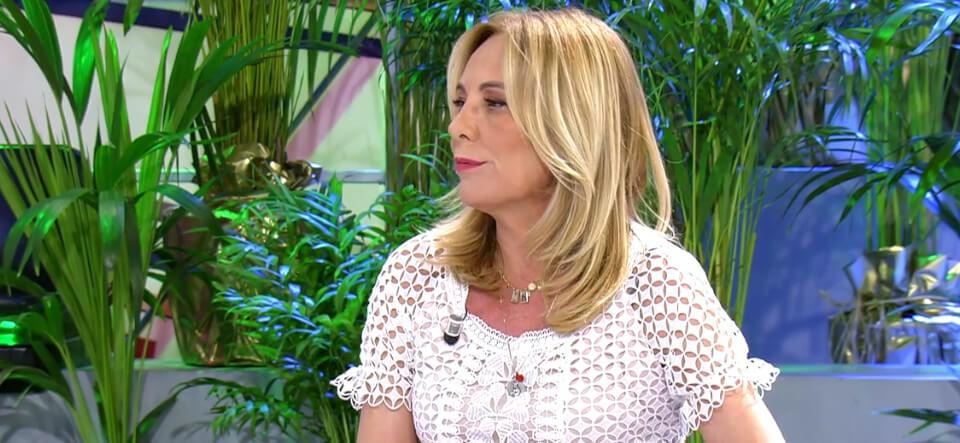 Belén Rodríguez habla en el Deluxe