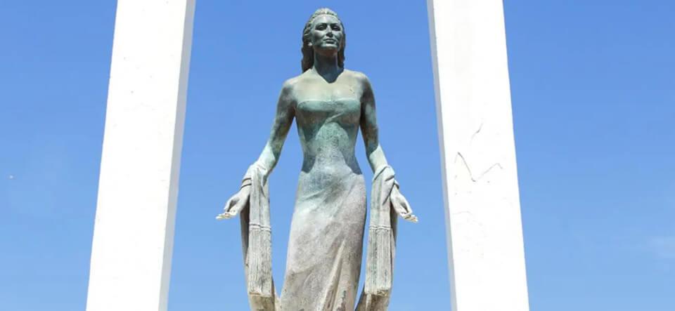 Rocío Jurado y el Ayuntamiento de Chipiona