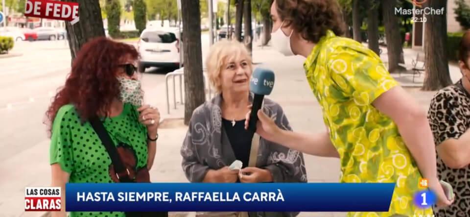 El periodista Fede Arias y su homenaje a Raffaella Carrá