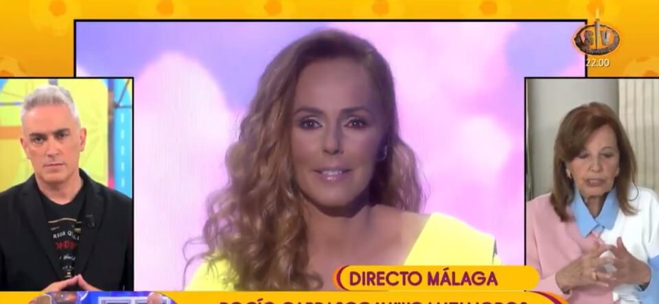 María Teresa Campos habla