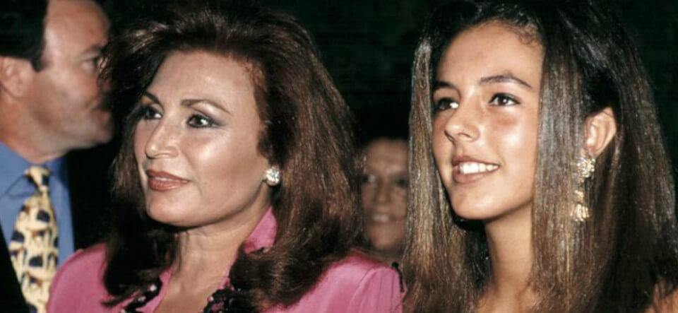 Rocío Jurado y Rocío Carrasco